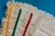 Mop bawełna 50 cm kieszeń - TTS - Niebieski