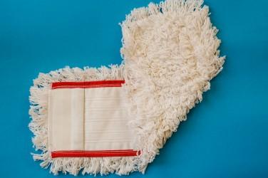 Mop bawełna 50 cm - Czerwony