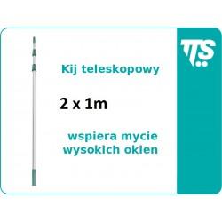 Kij teleskopowy 2x1 m