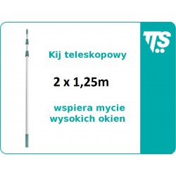 Kij teleskopowy 2x1,25 m