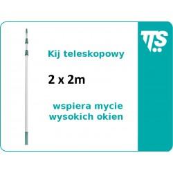 Kij teleskopowy 2x2 m