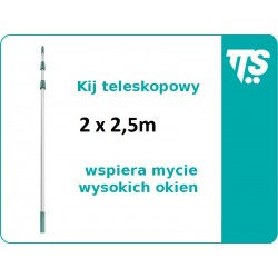 Kij teleskopowy 2x2,5 m