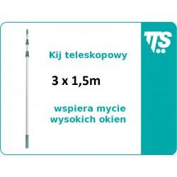 Kij teleskopowy 3x1,5 m